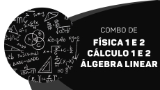 Física 1 e 2 + Calculo 1 e 2 + Álgebra linear