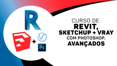 Revit Avançado + Sketchup com Vray