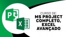 Ms Project Completo + Excel Avançado