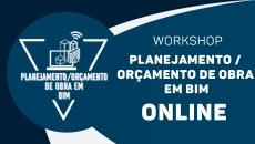 Planejamento / Orçamento de Obra em BIM - Online